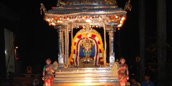 Sri Thendayuthapani, Sri Meenakshi Sundaraswarer Varusabisegham (Uthiratathi)